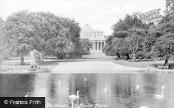 Cheltenham, Pittville Park c.1930