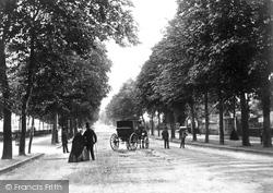 Cheltenham, Promenade c.1865