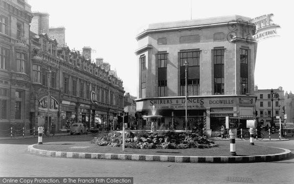 Cheltenham, the Centre and Promenade c1940