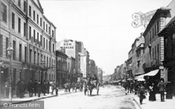 Cheltenham, The High Street c.1880