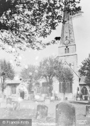 Cheltenham, The Parish Church c.1950