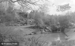 Cheltenham, The Rock Gardens, Sandford Park 1940