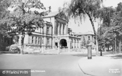 Cheltenham, The Town Hall c.1955