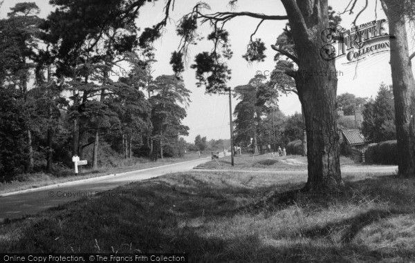 Photo of Chelwood Gate, Ashdown Forest c.1950