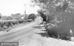 Chelwood Gate, Chelwood Common Road 1964