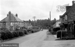 Chelwood Gate, Post Office And Village c.1950