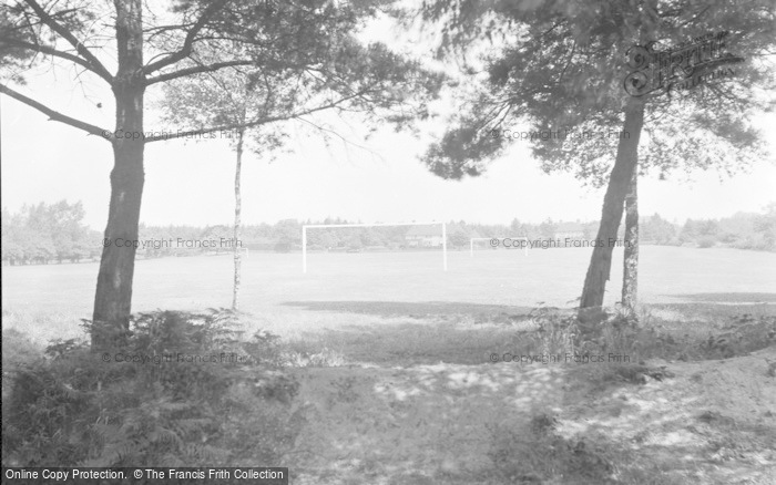 Photo of Chelwood Gate, The Camp Playing Fields c.1950