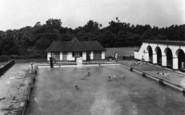Chelwood Gate, The Camp Swimming Pool c.1950
