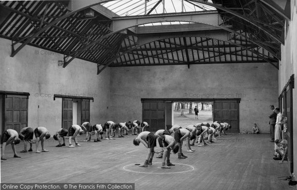 Photo of Chelwood Gate, The Gymnasium, Isle Of Thorns Camp 1950