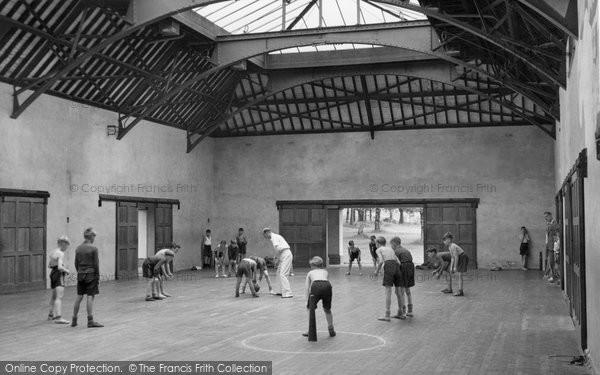 Photo of Chelwood Gate, The Gymnasium, Isle Of Thorns Camp 1950