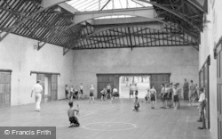 Chelwood Gate, The Gymnasium, Isle Of Thorns Camp c.1950