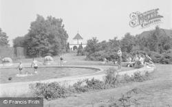 Chelwood Gate, The Paddling Pool, Isle Of Thorns Camp c.1950