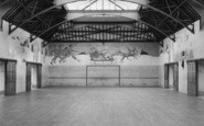 Chelwood Gate, The Play Barn Showing Murals, Isle Of Thorns Camp 1950