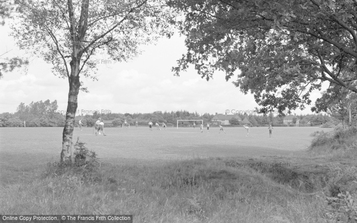 Photo of Chelwood Gate, The Playing Fields, Isle Of Thorns Camp 1950