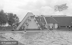 Chelwood Gate, The Swimming Bath, Isle Of Thorns Camp 1950