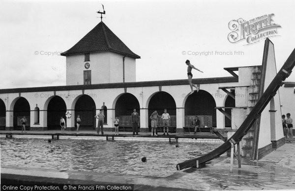 Chelwood Gate, the Swimming Baths , Isle Of Thorns Camp c1955
