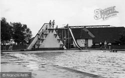 Chelwood Gate, The Swimming Baths, Isle Of Thorns Camp 1950