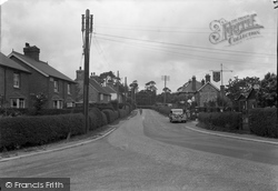 Chelwood Gate, The Village c.1950