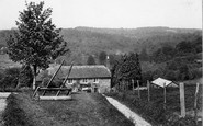 Chelwood Gate, view from Divalls Farm 1928