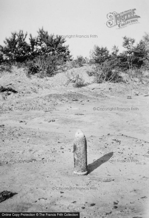 Photo of Chemin Des Dames, Wwi Shell c.1930