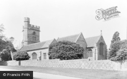Chenies, Church c.1950