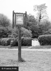 Chenies, The Village Sign c.1955
