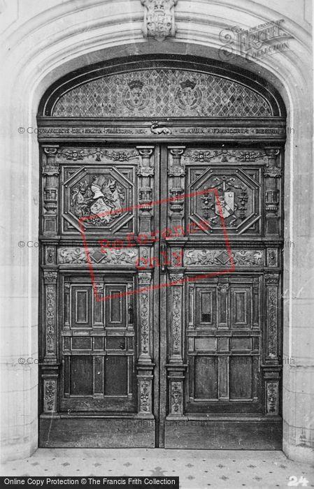 Photo of Chenonceaux, Chateau De Chenonceau, Renaissance Door c.1930