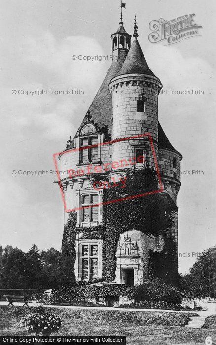 Photo of Chenonceaux, Chateau De Chenonceau, The Marques Tower c.1930