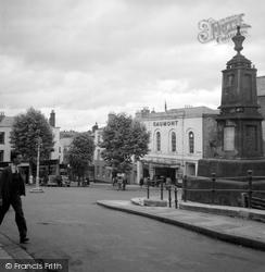 Beaufort Square c.1950, Chepstow