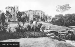 Chepstow, Castle c.1930