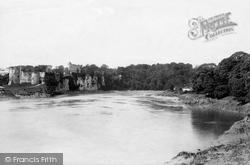 Chepstow, Castle From Bridge 1893