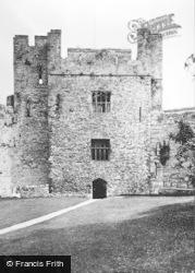 Chepstow, Castle, Martens Tower c.1930