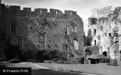 Chepstow, Castle, The Chamber Block 1949