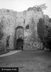 Chepstow, Castle, The Gatehouse 1949