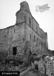 Chepstow, Castle, The Hall 1949
