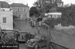 Chepstow, Disembarking From Beachley Ferry 1950