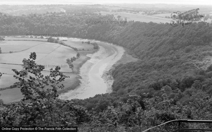 Photo of Chepstow, General View near Wyndcliff 1959