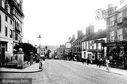 Chepstow, High Street 1936