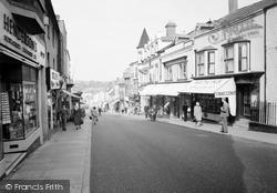 Chepstow, High Street 1957