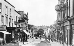 Chepstow, High Street c.1935