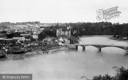Chepstow, River And Castle 1893