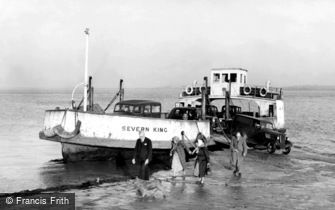 Chepstow, 'Severn King' Ferry, Beachley 1950
