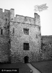 Chepstow, The Castle 1949