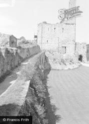 Chepstow, The Castle 1957
