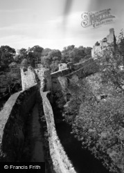 Chepstow, The Castle 1957