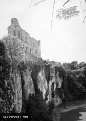 Chepstow, The Castle And River Wye 1949