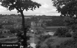 Chepstow, The Castle c.1950