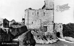 Chepstow, The Castle c.1957