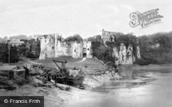 Chepstow, The Castle From The Bridge 1893