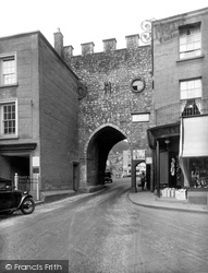 Chepstow, Town Arch 1936